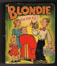 Blondie Fun for All Big Little Book BLB 1463 HC 1949   eBay