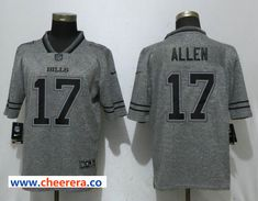dcd1835f Nike Buffalo Bills 17 Josh Allen Gray Gridiron Gray Vapor Untouchable  Limited Jersey on sale for Cheap,Discount price really Authentic quality,wholesale  ...