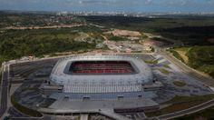 Arena Pernambuco - São Lourenço da Mata (PE) - Capacidade: 36.2 mil - Clube: Náutico