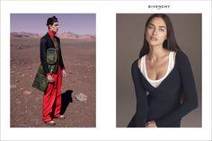 Irina Shayk stars in Givenchy's spring 2017 campaign