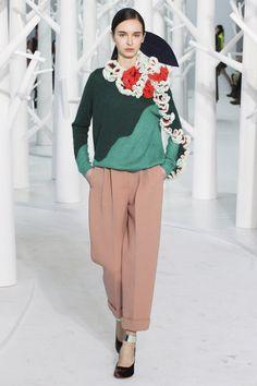 Love the sweater! Delpozo.