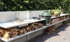 outdoor kitchen Gardenista: Sourcebook for Cultivated Living