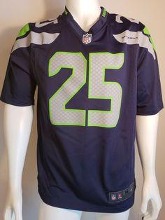 e17006f20 Nike NFL Seattle Seahawks Jersey Men's Sz M Blue On Field #25 Sherman12th  Man #Nike #SeattleSeahawks
