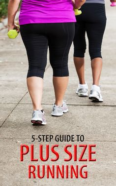 .Running is the best way to lose weight and burn fat, no doubt, but are you putting off doing it because you think you are too fat for it? You shouldn't hold back any more! If you're an overweight person here is our 5 step guide to plus size running to get you started in no time!