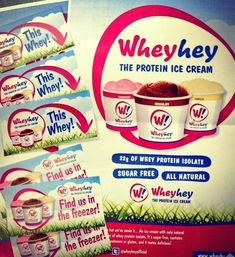 Have you tried WheyHey ice cream from Holland & Barrett yet? It's 100% natural, contains no added sugar and packs in 22g of whey protein isolate! - great for those trying to get into shape #hollandandbarret #wheyhey #icecream #castlegate #stockton #castlegateshoppingcentre #stocktonontees