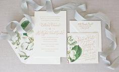 Wedding Suite by Kara Anne Paper www.karaannepaper.com Photography   Colorbox Photographers