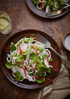 Chicken Udon Salad, Mowie Kay  FOOD & LIFESTYLE PHOTOGRAPHER