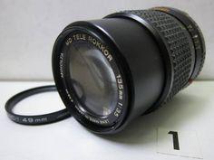 LS693BA ミノルタ MINOLTA MD TELE ROKKOR 135mm F3.5 ジャンク_画像1