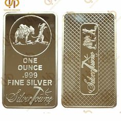 Lot of 10-1 OZ 500 MILLLS of .999 Fine Gold Buffalo Bar Fine Bullion CHRISTMAS!
