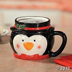 Adult Favor? - Penguin Mug