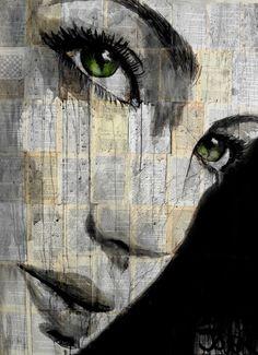 "Saatchi Art Artist: Loui Jover; Ink 2014 Drawing ""away"""