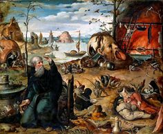 The Temptation(s) of St Anthony