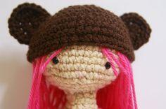 Crochet Cobie Bear Cub Pink Amigurumi Doll by MillieCrochetHouse, $44.00