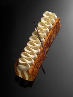 Millefeuille double vanille - Christophe Michalak