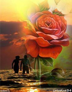 love in the sea...