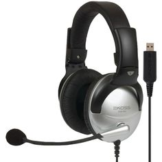 The Koss Clear Voice Technology, or CVT, allows the USB noise-reduction microphone to eliminate excessive background noise. This enables the PC voice applications, such as speech recognition, to be used much more easily. Noise Cancelling Headphones, Stereo Headphones, Moto Suzuki, Speech Recognition, Audio, Black Headband, Philips, Gaming Headset, Noise Reduction