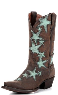 Women's Colt Ford Country Star Boot - Vintage Coffee