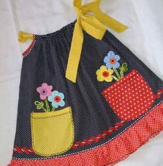 {Traditional and tailored made kid gown, gives the best solution. Kids Outfits Girls, Cute Outfits For Kids, Toddler Outfits, Girl Outfits, Baby Girl Dress Patterns, Little Dresses, Little Girl Dresses, Sewing Kids Clothes, Baby Sewing
