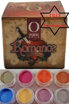 Organic Nails Romance Acrylic Collection | eBay