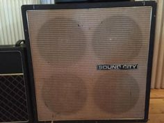 Gitarrenbox Original Sound City 4x12 in Niedersachsen - Neustadt am Rübenberge | Musikinstrumente und Zubehör gebraucht kaufen | eBay Kleinanzeigen