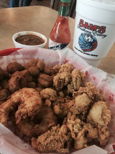 """Seafood noted for """"generous servings."""" Sam's Southern Eatery"""