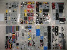 Lego Technic parts by cb1kenobi, via Flickr