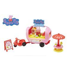 Peppa Pig Theme Pack Ice-Cream Playset: Amazon.co.uk: Toys & Games