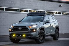 Lifted RAV4 Built to Go Places - Overland-Inspired Project Toyota Rav4 2019, Toyota Cars, Auto Toyota, Toyota Tacoma, Firestone Tires, Tacoma Truck, Best Gas Mileage, Subaru Forester, Future Car