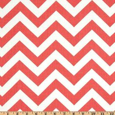 Hey, I found this really awesome Etsy listing at https://www.etsy.com/listing/127320278/premier-prints-zig-zag-coral-and-white