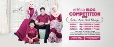 ETHICA : TREND FASHION MUSLIM PARA HIJABERS DAN BAJU KELUARGA  ETHICA : TREND FASHION MUSLIM PARA HIJABERS DAN BAJU KELUARGA. Baju muslim dan hijab kini bukan lagi menjadi trend di saat moment ram…