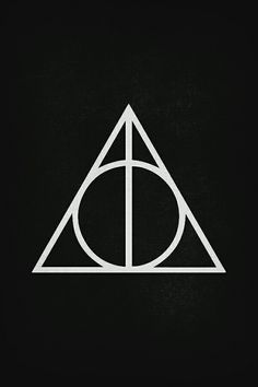 Harry Potter And Thely Hallows Ly Hallows Symbol Harry Potter Symbols Harry Potter