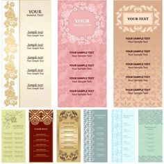 baroque-vintage-cards-vector