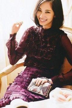 Picture of Kiko Mizuhara Kiko Mizuhara Style, Fashion Poses, Women's Fashion, Fashion Shoot, Fashion Editorials, Ladies Fashion, Fasion, Eggplant Color, Going Out Outfits