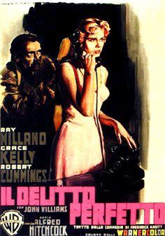 Il delitto perfetto (1954) di Alfred Hitchcock Stracinema - Piccoli e grandi…