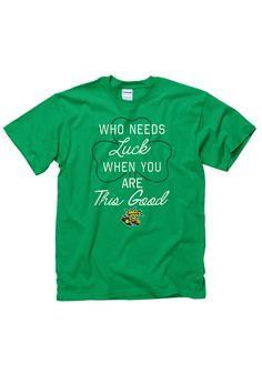 Wichita State Shockers Green St. Patrick's Day Short Sleeve Tee http://www.rallyhouse.com/shop/wichita-state-shockers-mens-short-sleeve-tshirt-green-22780611?utm_source=pinterest&utm_medium=social&utm_campaign=Pinterest-WSUShockers $16.99