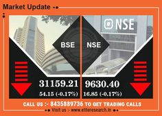 Sensex Nifty red signal, stock market trading down side