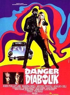 A fantastic romp through the mod, swinging sixties: Danger Diabolik, directed by Mario Bava