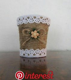 This Pin was discovered by Ayg Tin Can Crafts, Crafts To Make And Sell, Diy Home Crafts, Fall Crafts, Christmas Crafts, Crafts For Kids, Arts And Crafts, Paper Crafts, Mason Jar Crafts
