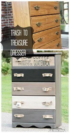 Trash to Treasure Dresser, Bliss-Ranch.com