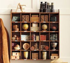 Cubby organizer from Pottery Barn