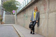 Kuschliger Strick & weiches Leder. Leder ist eines meiner Lieblings-Materialien für den Herbst....