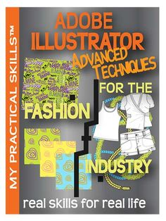 Adobe Illustrator Advanced Techniques | My Practical Skills. eBook. You'll learn to define your own swatches and generate seamless print repeats for textile designs.