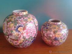 jarrones-potiches decoración oriental Macau. JARRONES CHINOS