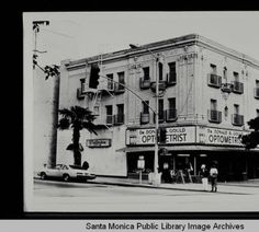 Criterion Theatre and Apartments (Dr. Donald S. San Fernando Valley, Ocean Park, Beach Town, West Side, Back In The Day, Santa Monica, Southern California, 1940s, Apartments