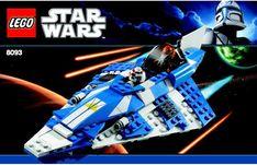 Star Wars - Plo Koon's Jedi Starfighter [Lego 8093]