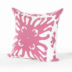 SOM Magenta Burst Pillow