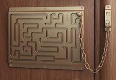 cool home decor with labyrinth security lock #NewHomesForSalePhoenix