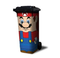 Mario Bin. Oh yes, what about a race with these? Lol. #taymai