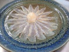 Flat fish sashimi