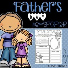 The perfect low prep Fathers Day activity!  This one page newspaper is in black and white and easy for students to color and decorate for dad!  The newspaper includes:*Dads favorites (TV show, color, food, saying)*Me and my dad*I love when my dad*A portrait of me and dadGrandpa and Uncle versions are included.